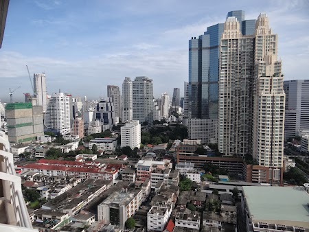 Panorama din balcon - ziua