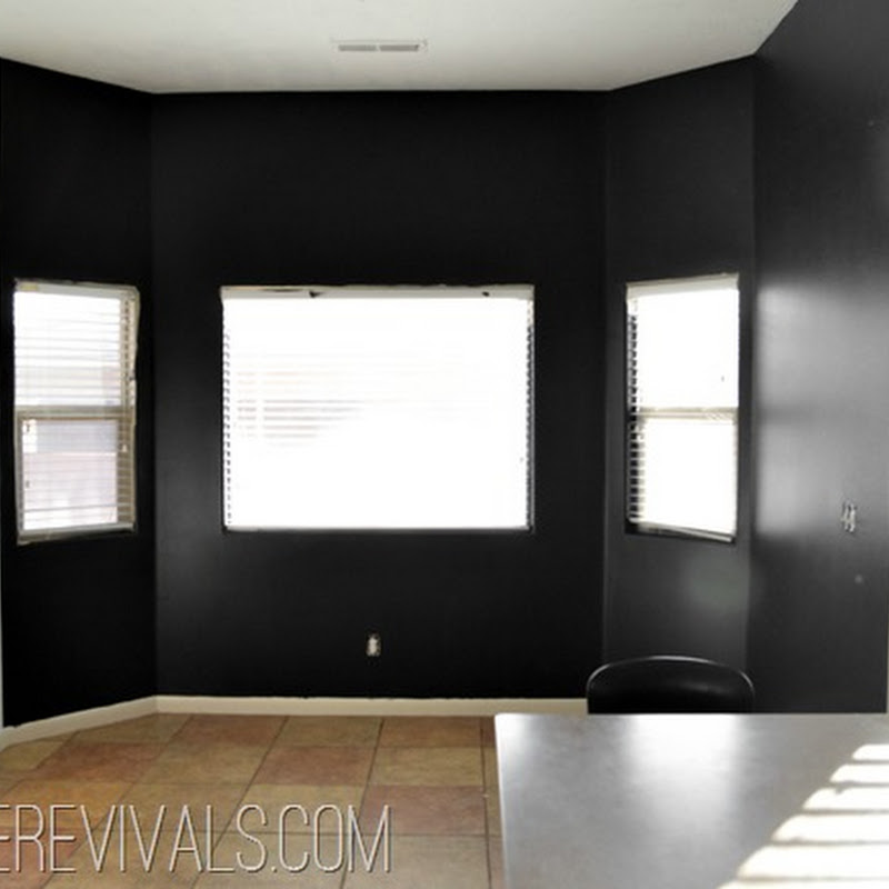 Black Paint For Walls