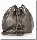 Marc by Marc Jacobs Metallic Leather Shoulder Bag