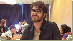 darren criss beard