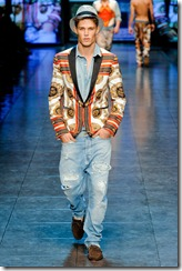 D&G Menswear Spring Summer 2012 Collection Photo 43