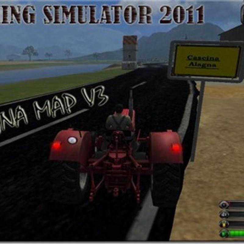 Farming simulator 2011 - AlagnamapV3 (mappe)