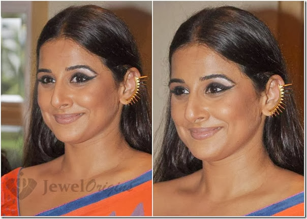 Vidya_Balan_Antique_Earrings