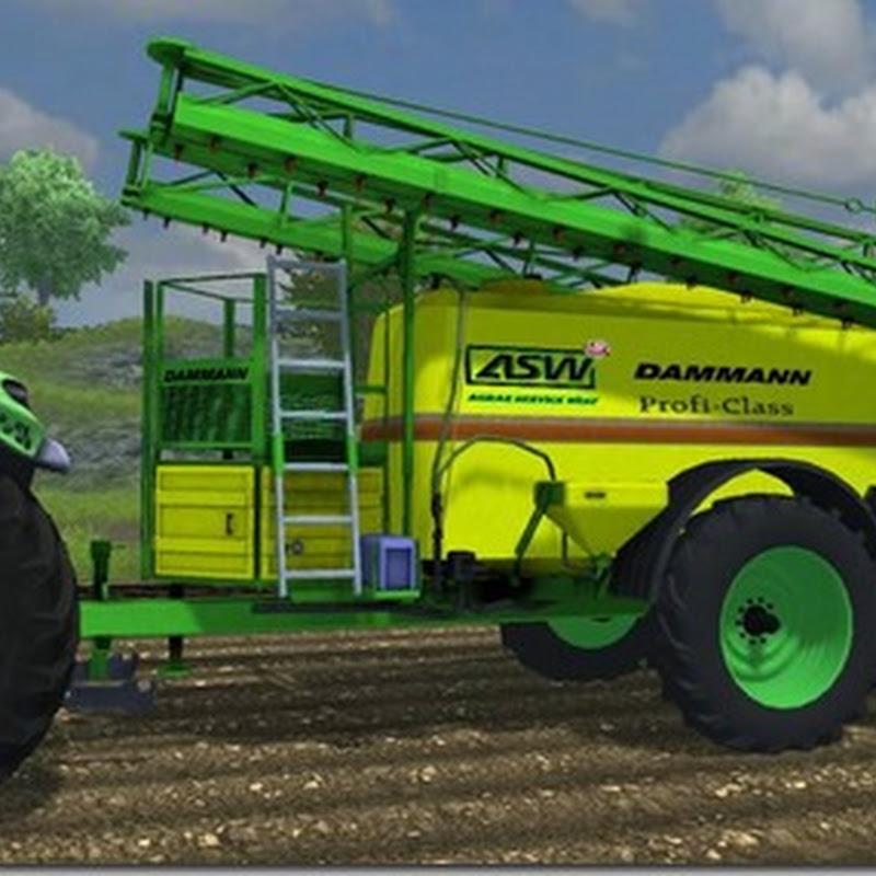 Farming simulator 2013 - Dammann Profi Class 7500 tandem v 1
