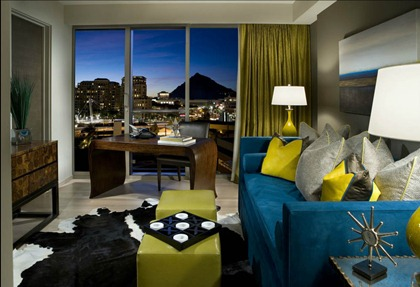 w hotel wow suite scottsdale interior design