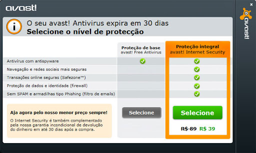  Download Avast! AntiVrus Gratuto em sua ltima verso