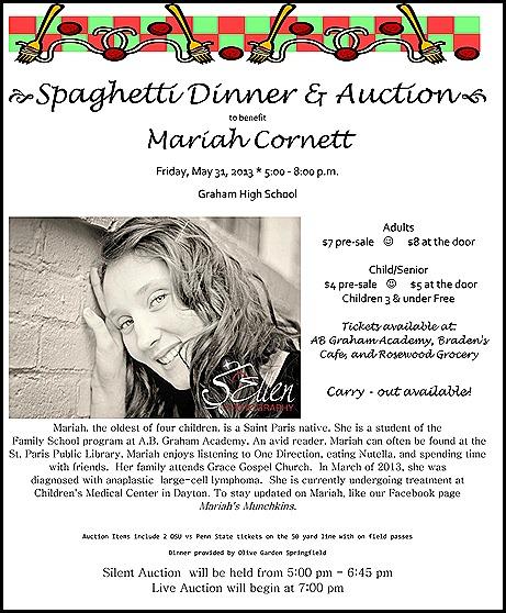 Mariah Cornett Benefit Dinner