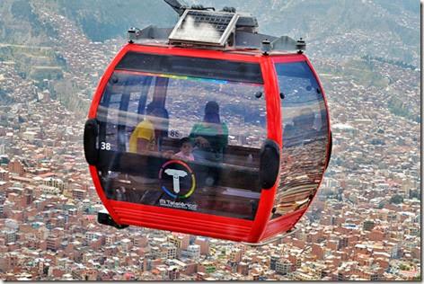 Servicio de transporte La Paz - El Alto