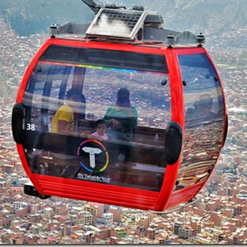 Mi Teleférico (2014): servicio de transporte aéreo por cable (La Paz)