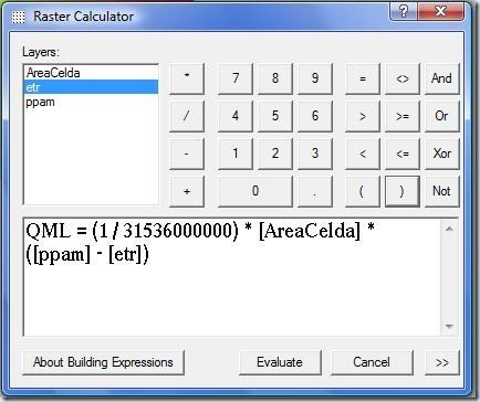 F3. ecuacion para calcular cuadal