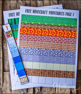 Free-Minecraft-Magnet-Printables