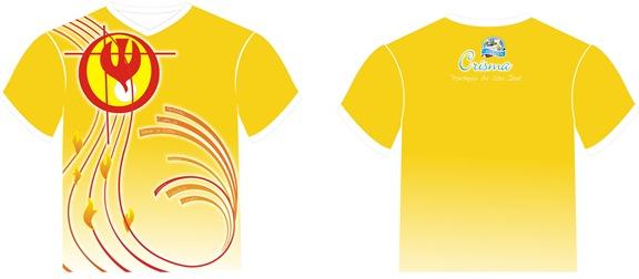 Camisa da Crisma da Paroquia de São José 2012