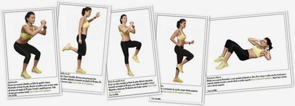 Exibir 9 exercicios para combater a celulite