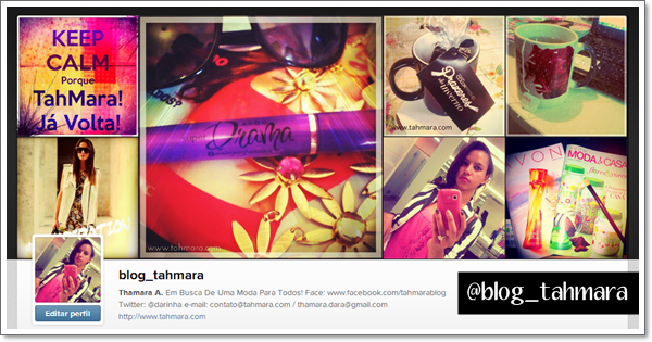 Instagram: BlogTahMara!