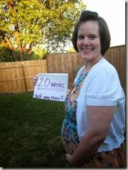 bridget belly 20 weeks