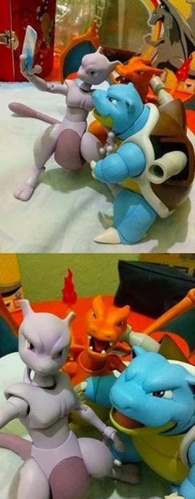 selfie-pokémon