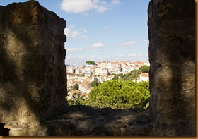 Lisbon, from the castle