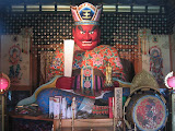 Yama, god of the dead, at Fukagawa Enma-Do temple