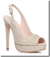 Miss KG High Glitter Platform Sandal