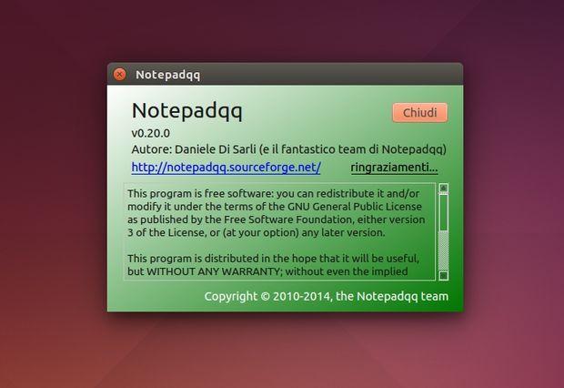 Notepadqq 0.20.0 info