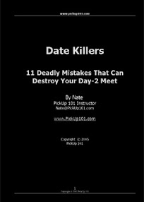 Cover of Pickup101's Book 11 Deadly Mistakes That Can Destroy Your First Date