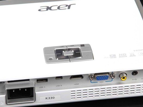 Review: Acer K330 Prejector