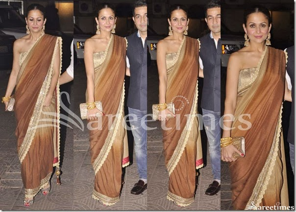 Amrita_Arora_Dual_Color_Saree