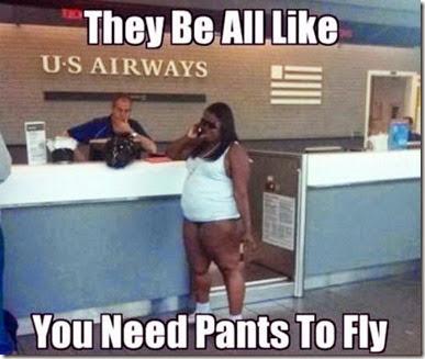 Pants on a Plane