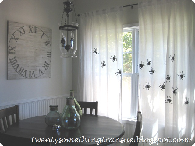 Halloween Curtains 4