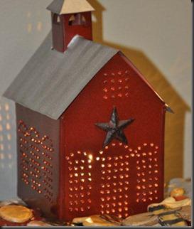 Paul Revere Punch Tin School House