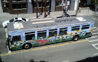 San Francisco Muni operates its hybrid buses on biodiesel