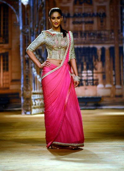 Ileana Ramp Walk For Sulakshana Couture