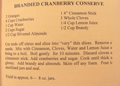 Cape Cod Columbus weekend 2012..Sat. Green Brier Jam Kitchen brandied cranberry conserve recipe