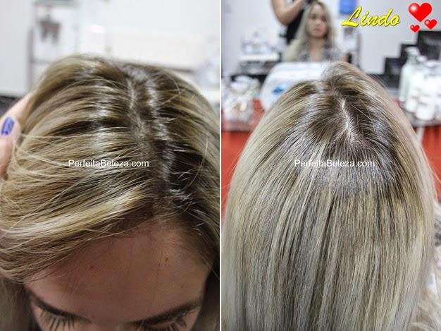 raiz esfumada do cabelo