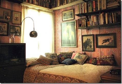 Library Bedroom Interior Design Ideas