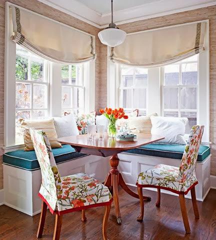 corner baguette seating