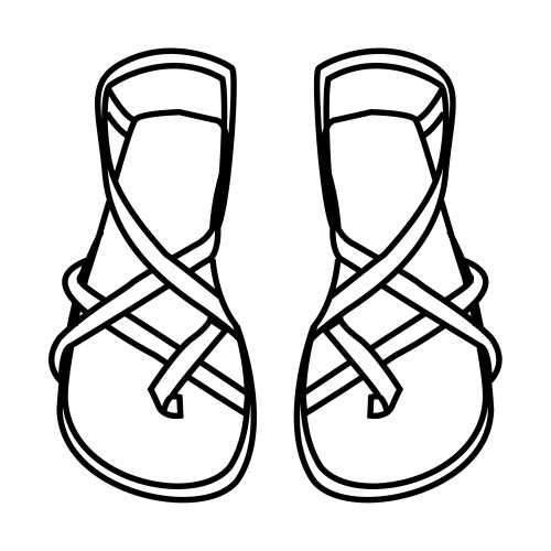 shoes of peace coloring page - sandals of peace coloring pages