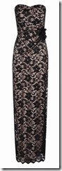 Jane Norman Lace Bandeau Maxi Dress