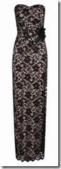 Jane Norman Lace Bandeau Maxi Dress