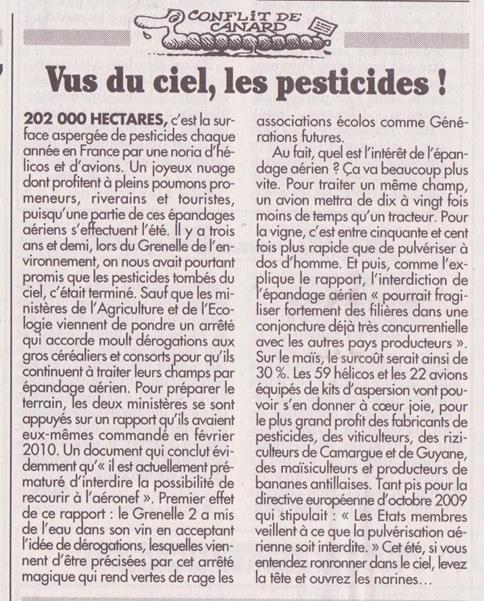 Pesticides UMP