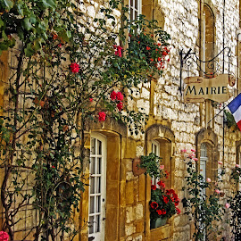Mairie by Michael Moore - Landscapes Travel ( dordogne, france, mairie )