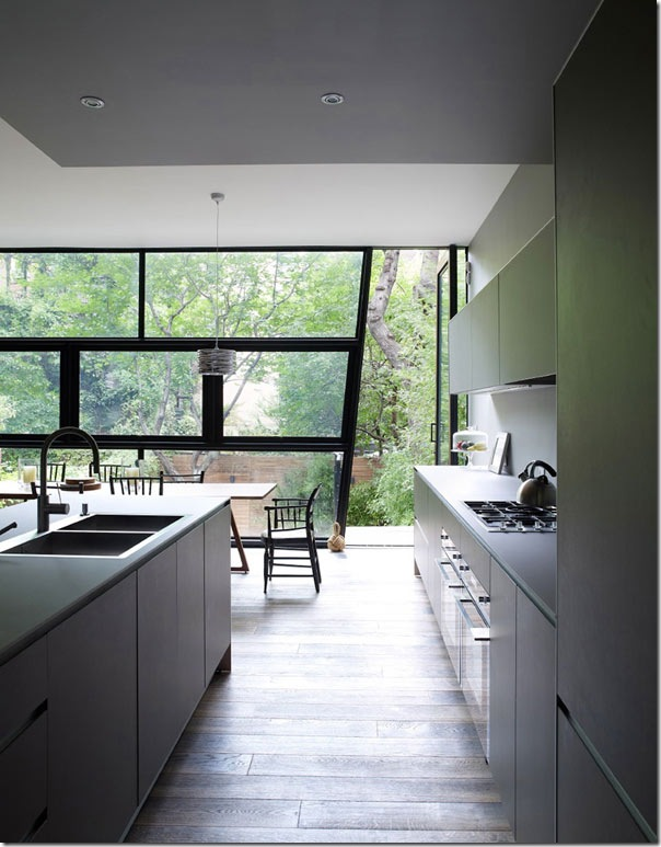 case e interni - Chelsea - casa moderna - tre piani (9)