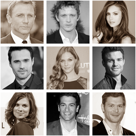 Celebrity crushes collage
