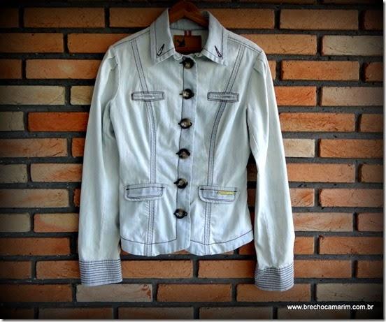 Jaqueta jeans Colcci