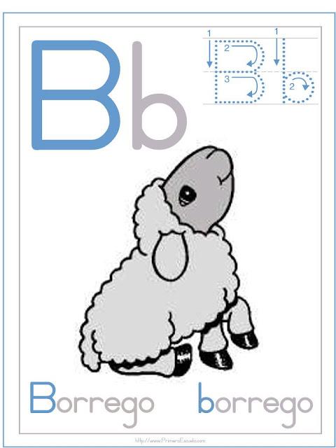 Letra b actividades con la letra b for La b b