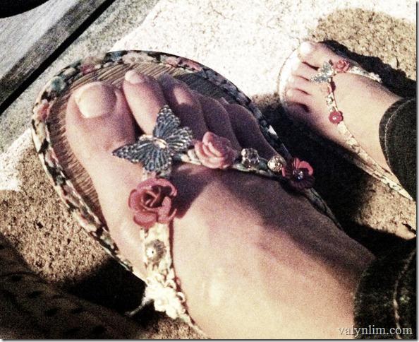 slipper from accessorize