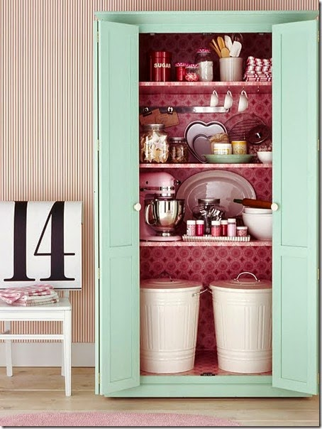 armoire from bhg - baking center