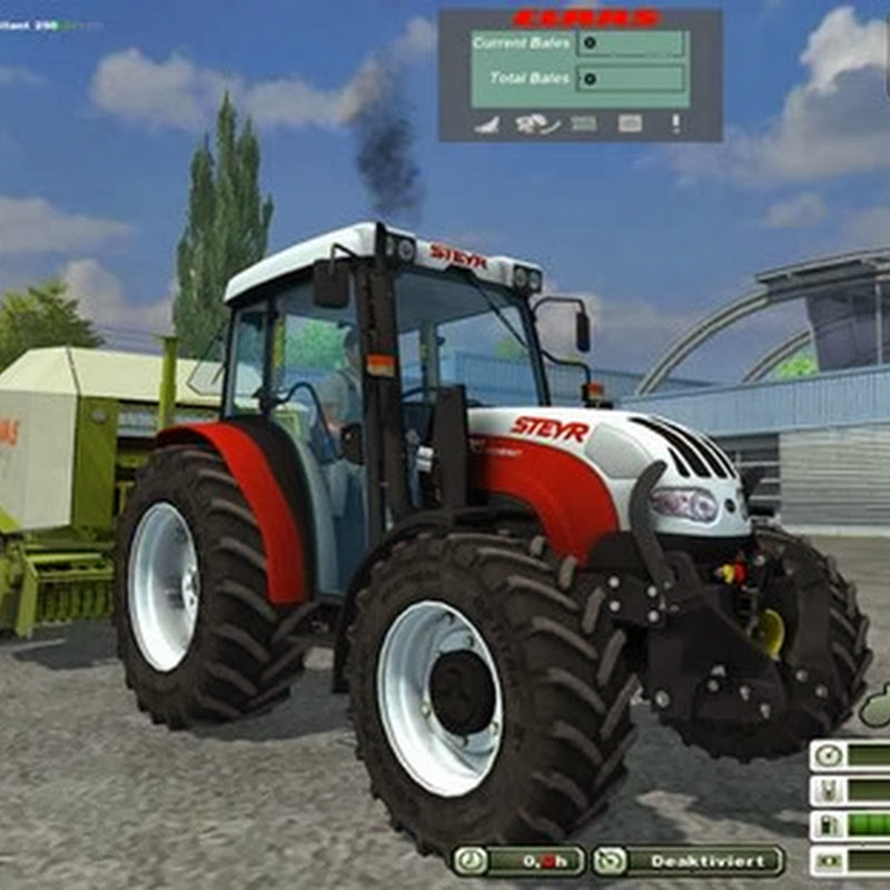 Farming simulator 2013 - STEYR Kompakt 4095 V 1.1 MR