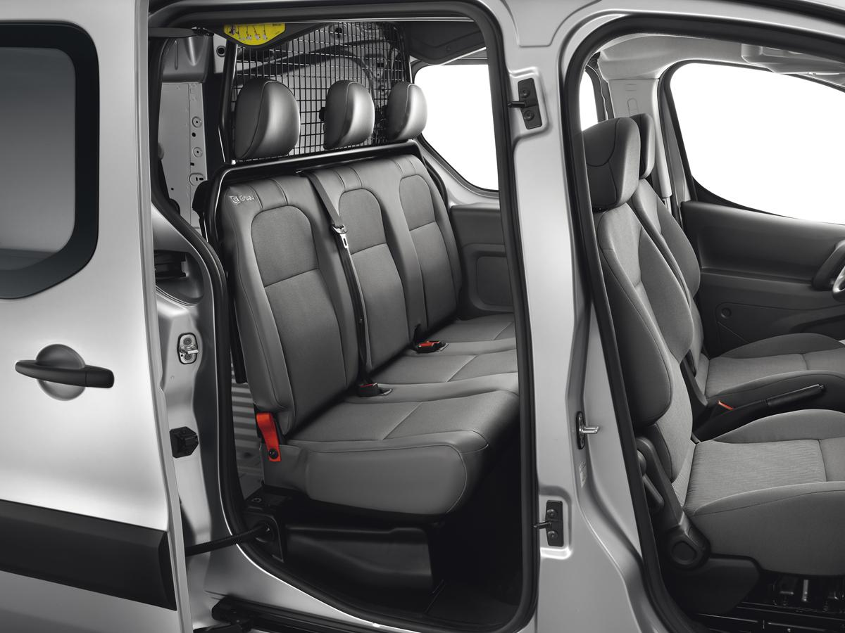 2013 Peugeot Partner Tepee İç dizayn