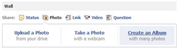 facebook page album